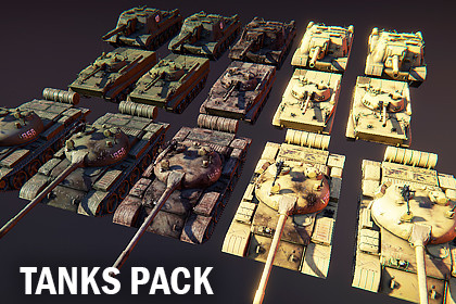 Tanks pack