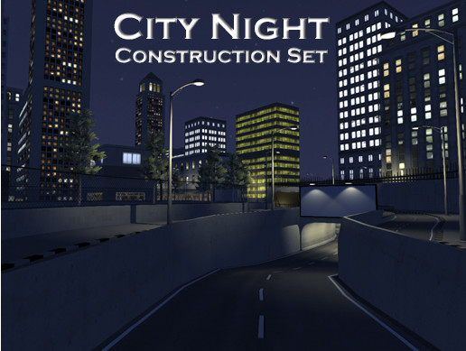City Night Construction Set