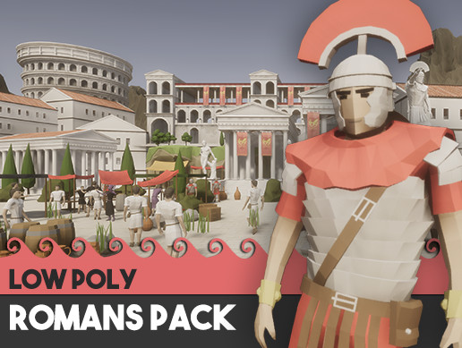 Romans Pack - Low Poly