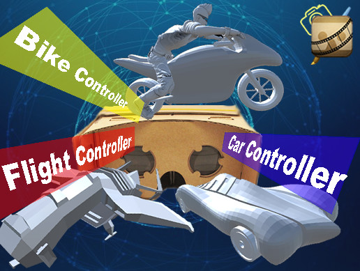 CardBoard VR TPS Vehicle pack