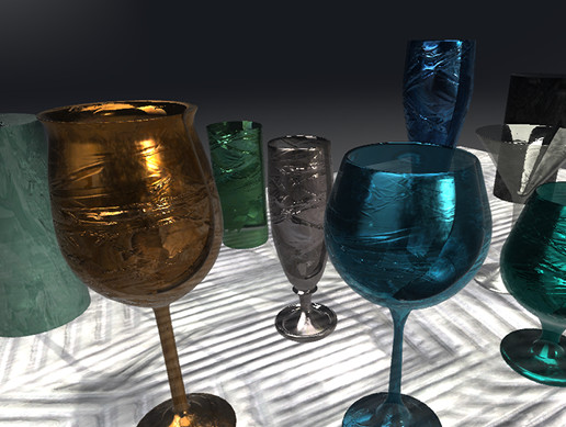 Ultra Realistic Glass Substance