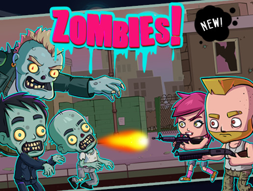 ZOMBIES SHOOTER GAME ASSETS V.1.0