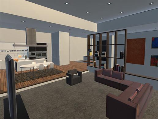 Realistic Modern Apartment