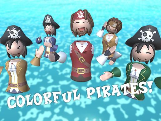 Colorful Pirates