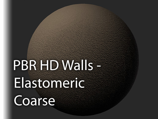 PBR HD Walls Elastomeric Coarse