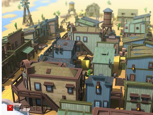 Western Town Pixel Style Set
