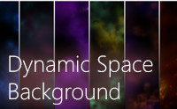 Dynamic Space Background Lite - Asset Store