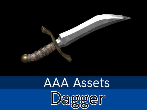 Medieval Dagger [AAA,PBR]