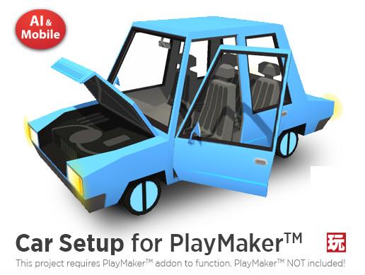 Car Setup For PlayMaker - Asset Store