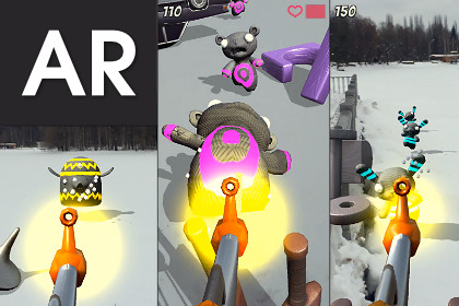 AR Survival Shooter: AR FPS — Augmented Reality — AR Shooter