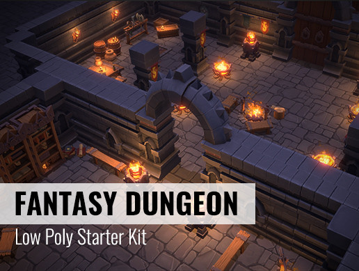 Fantasy Dungeon Starter Kit
