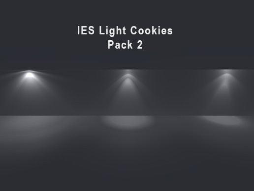 IES Light Cookies Pack 2