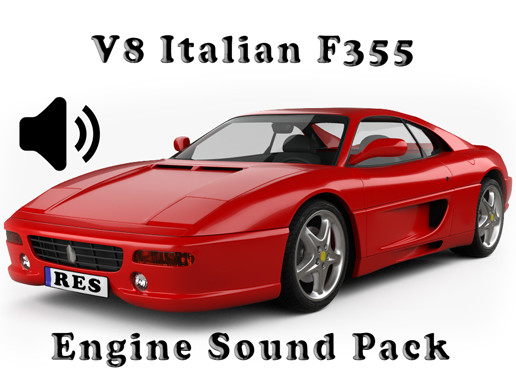 V8 Italian F355 - Engine Sound Pack