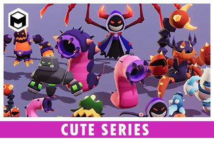 Monsters Ultimate Pack 04 Cute Series