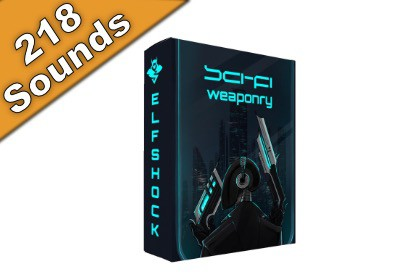 Sci-Fi Weaponry Audio Pack