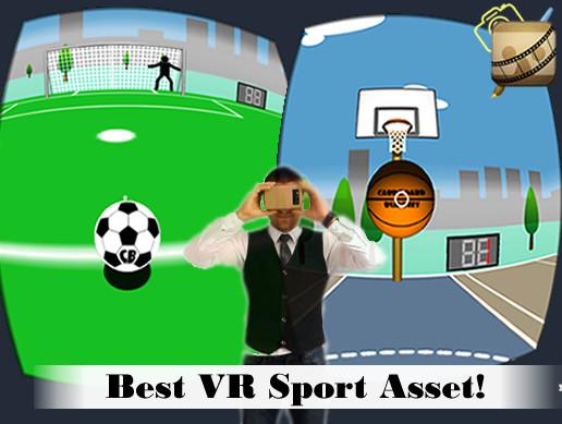 Cardboard VR Simple Sports