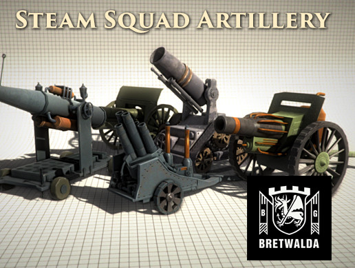 Steam Squad Artillery