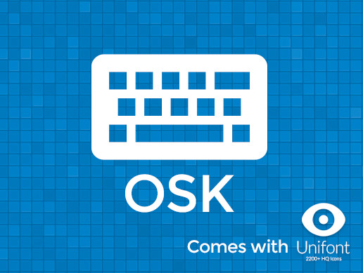 OSK: On Screen Keyboard
