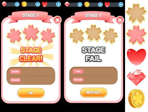 Cherry blossom GUI pack