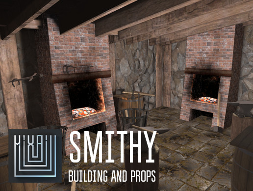 Smithy - building and props