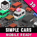 Simple Cars - Cartoon Vehicles