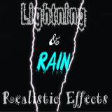 Realistic Lightning and Rain Effects