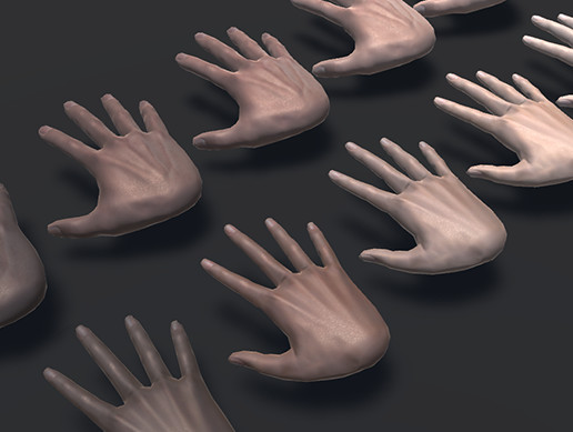Realistic VR Hands