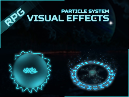 Rpg Particle ground Effects Pack