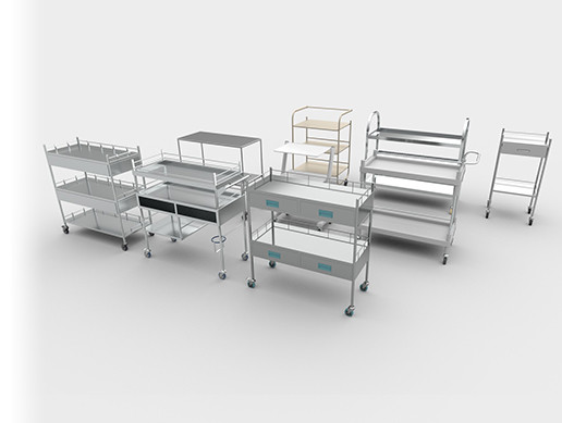 Medical Carts Set