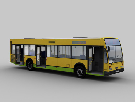 City Bus with Interior 9