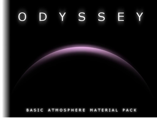 ODYSSEY - Space Atmospheres Material Pack