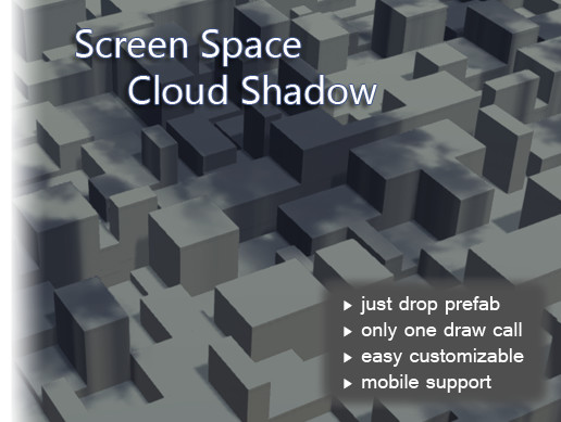 Screen Space Cloud Shadow