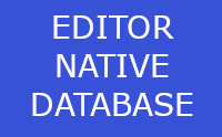 Editor Native Database