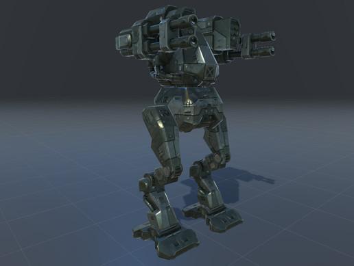 Robot 1 tank