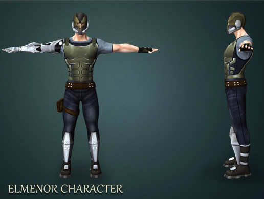 Elmenor Game Character Pack