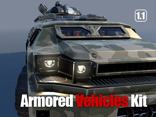 Sci-Fi Armored Vehicles Kit