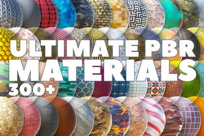 Ultimate PBR Materials 300+