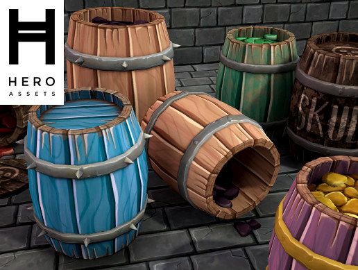 Stylized Barrel Pack