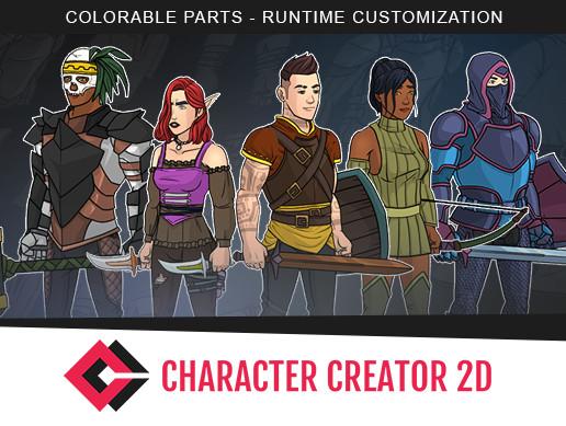 Character Creator 2D - Asset Store