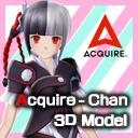 アクワイアちゃん 3Dモデル