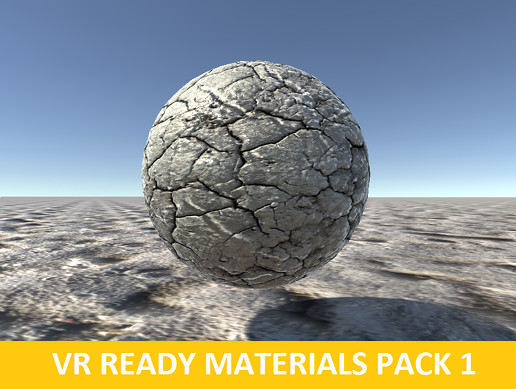 VR Ready Materials Pack 1