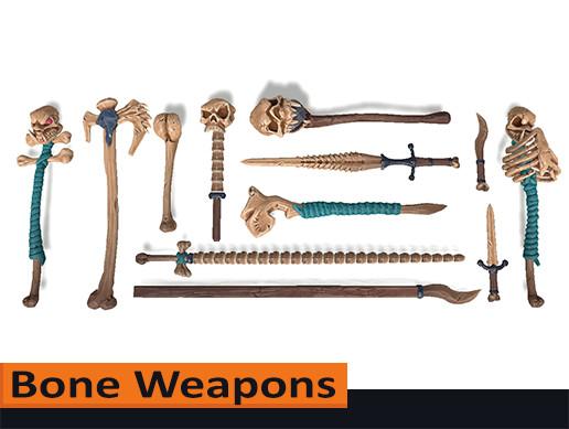 Stylized Weapons 02: Bone Weapons