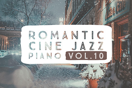 ROMANTIC CINE JAZZ PIANO VOL.10