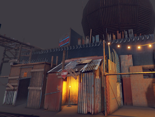 Apocalyptic Shacks, Props and Structures