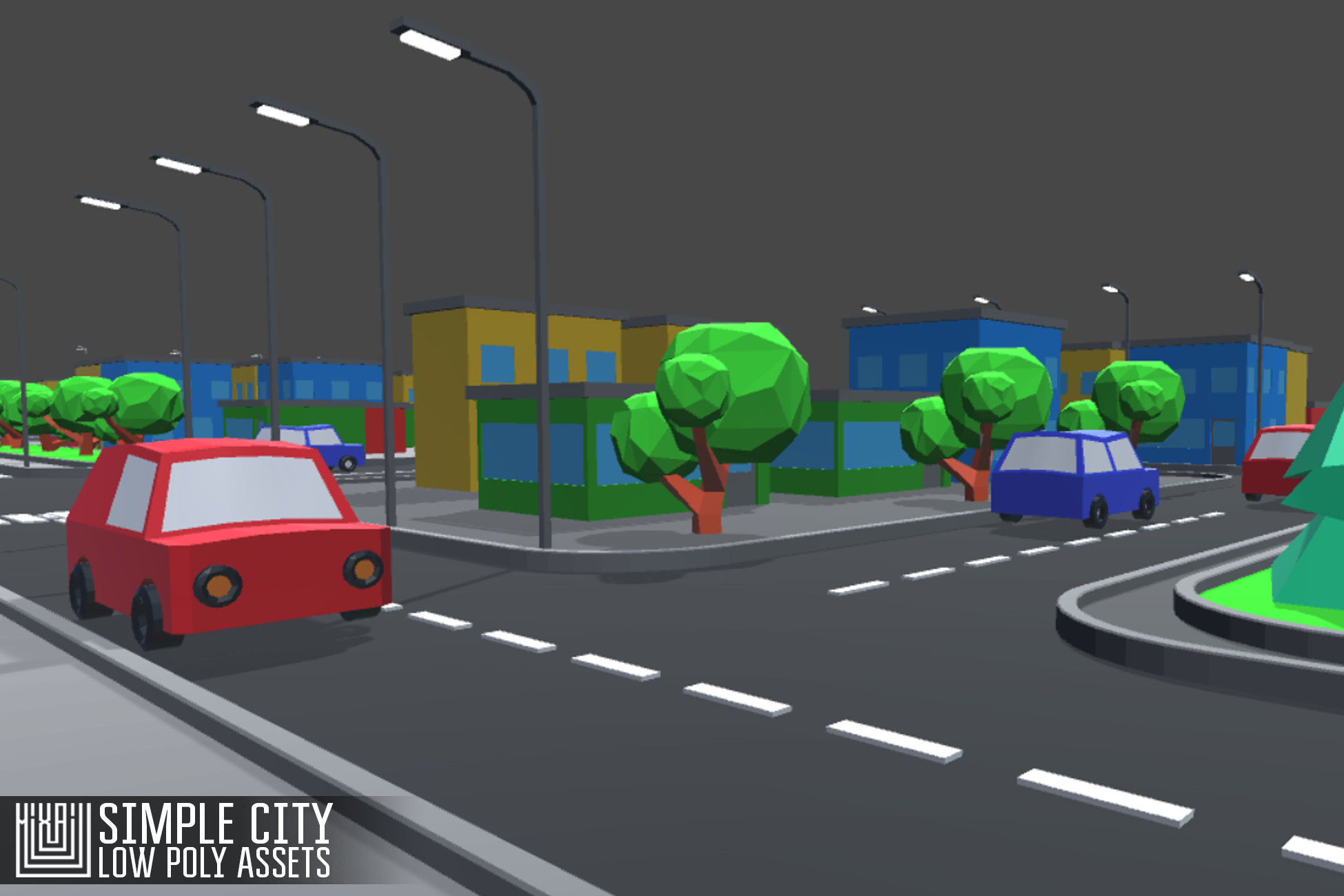 Simple City - Low Poly Assets