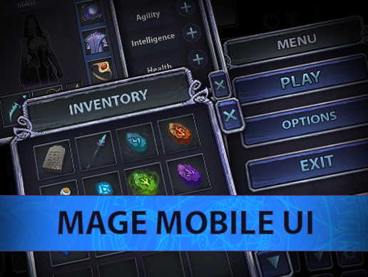 Mage Mobile UI