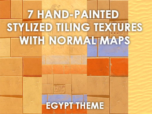 Stylized Egypt Texture Pack
