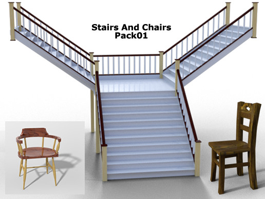 Stairs And Chairs