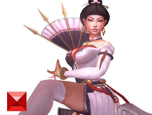 Blade Fan Dancer