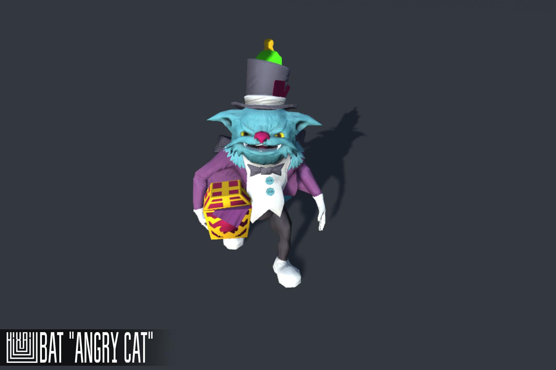 "Bat ""Angry cat"""